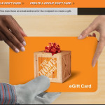 Free Home depot gift card1 150x150 Gift Cards of your choice