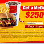 Free Mcdonalds gift card4 150x150 Buffalo Wild Wings coupons and free gift card