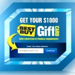 Free Best Buy Gift Cards